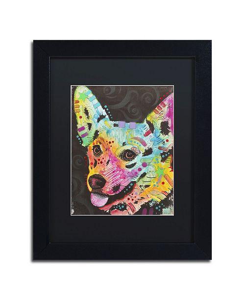 """Trademark Global Dean Russo '04' Matted Framed Art - 11"""" x 14"""" x 0.5"""""""
