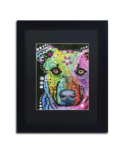 """Trademark Global Dean Russo '09' Matted Framed Art - 11"""" x 14"""" x 0.5"""""""