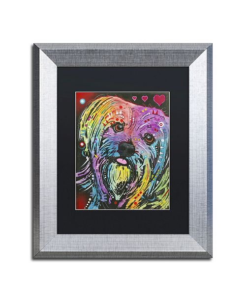 "Trademark Global Dean Russo '10' Matted Framed Art - 14"" x 11"" x 0.5"""