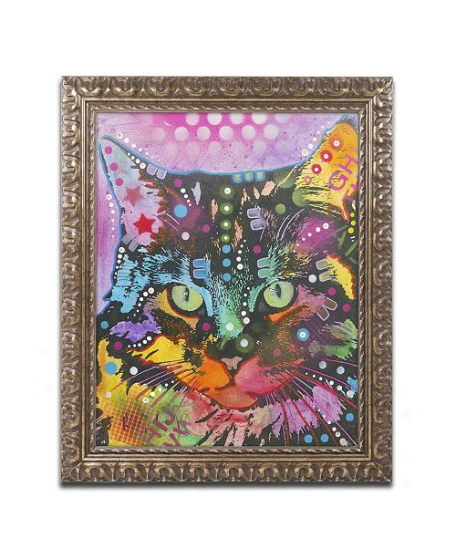 "Trademark Global Dean Russo '13' Ornate Framed Art - 14"" x 11"" x 0.5"""