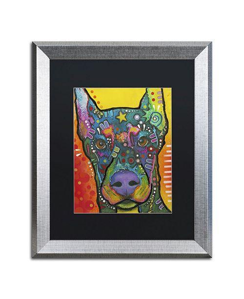 """Trademark Global Dean Russo '17' Matted Framed Art - 20"""" x 16"""" x 0.5"""""""