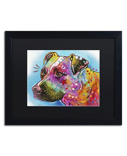 """Trademark Global Dean Russo '26' Matted Framed Art - 16"""" x 20"""" x 0.5"""""""