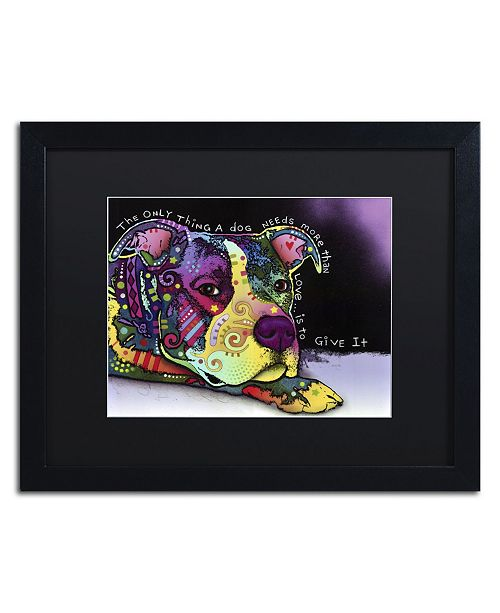 """Trademark Global Dean Russo 'Affection' Matted Framed Art - 16"""" x 20"""" x 0.5"""""""