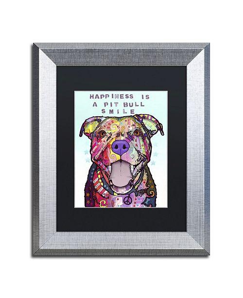 "Trademark Global Dean Russo 'Smile' Matted Framed Art - 14"" x 11"" x 0.5"""