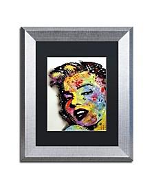 """Dean Russo 'Marilyn Monroe II' Matted Framed Art - 14"""" x 11"""" x 0.5"""""""