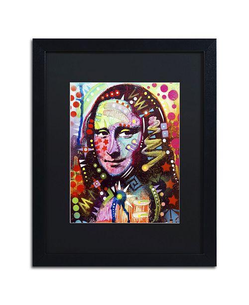 """Trademark Global Dean Russo 'Mona Lisa' Matted Framed Art - 16"""" x 20"""" x 0.5"""""""