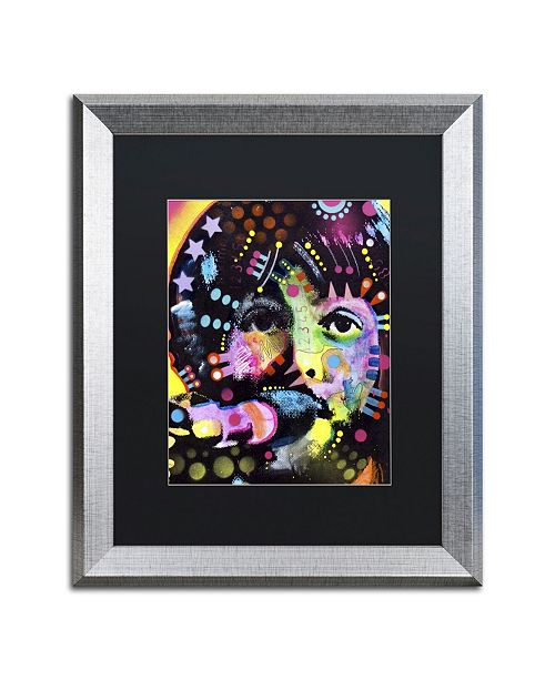 "Trademark Global Dean Russo 'Paul McCartney' Matted Framed Art - 20"" x 16"" x 0.5"""