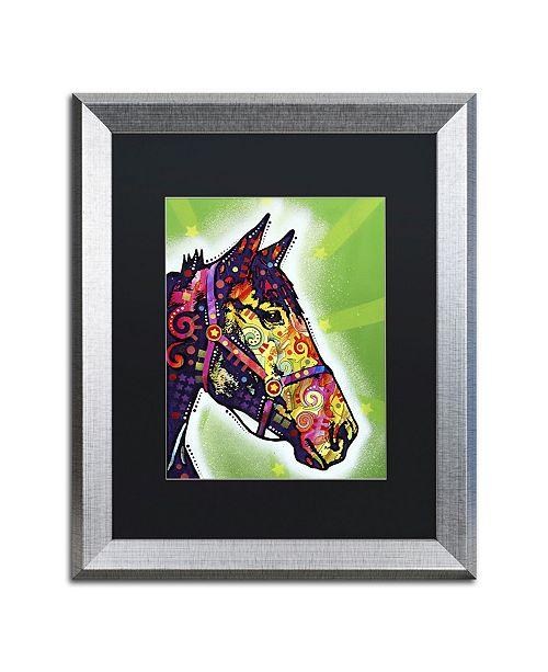 """Trademark Global Dean Russo 'Horse II' Matted Framed Art - 20"""" x 16"""" x 0.5"""""""
