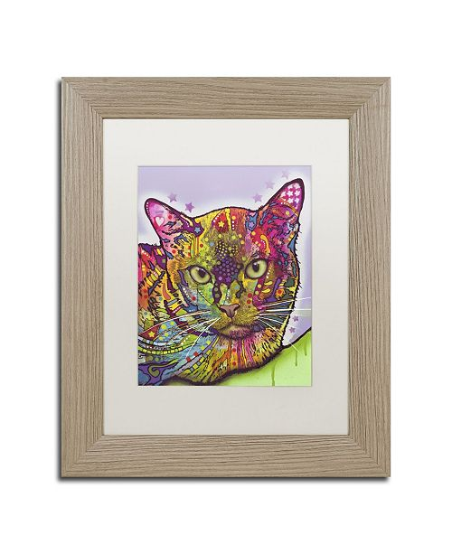 "Trademark Global Dean Russo 'Burmese' Matted Framed Art - 14"" x 11"" x 0.5"""