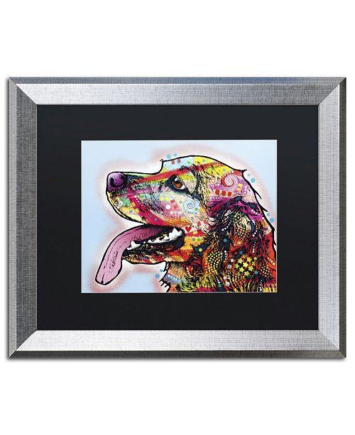 """Trademark Global Dean Russo 'Cocker Spaniel' Matted Framed Art - 20"""" x 16"""" x 0.5"""""""