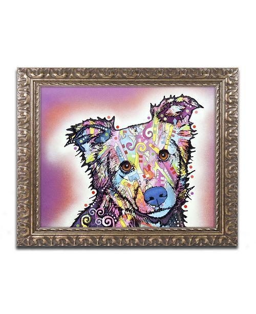 "Trademark Global Dean Russo 'Collied' Ornate Framed Art - 14"" x 11"" x 0.5"""
