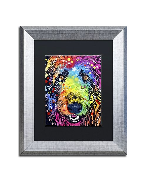 "Trademark Global Dean Russo 'Irish Wolfhound' Matted Framed Art - 14"" x 11"" x 0.5"""