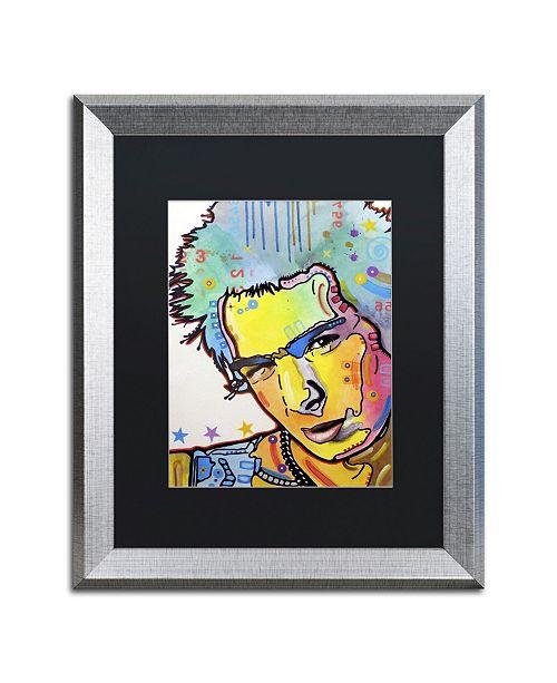 "Trademark Global Dean Russo 'Sid' Matted Framed Art - 20"" x 16"" x 0.5"""