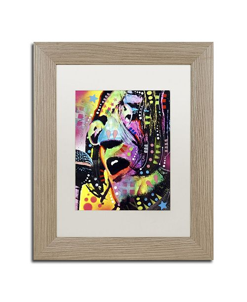 "Trademark Global Dean Russo 'John Lennon' Matted Framed Art - 14"" x 11"" x 0.5"""