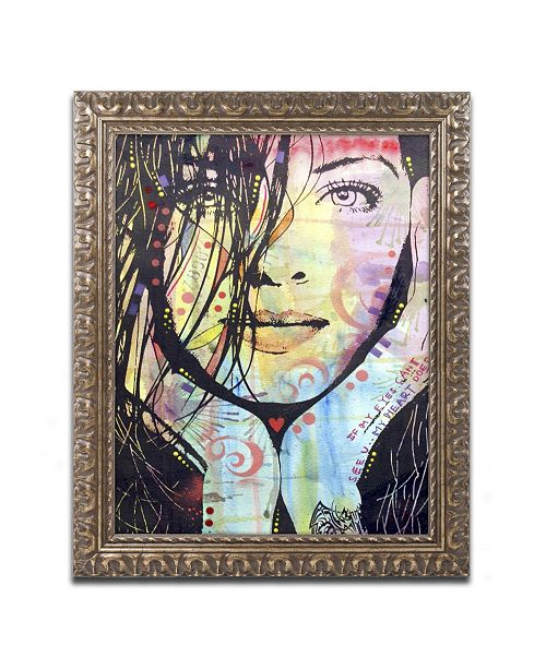 "Trademark Global Dean Russo 'My Eyes Cant See U' Ornate Framed Art - 14"" x 11"" x 0.5"""