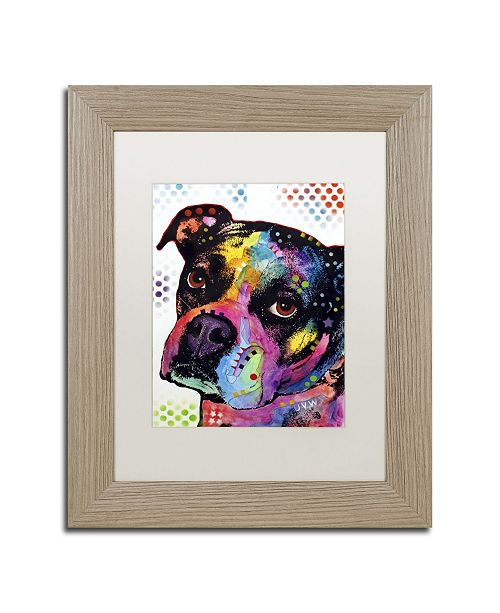 """Trademark Global Dean Russo 'Young Boxer' Matted Framed Art - 14"""" x 11"""" x 0.5"""""""