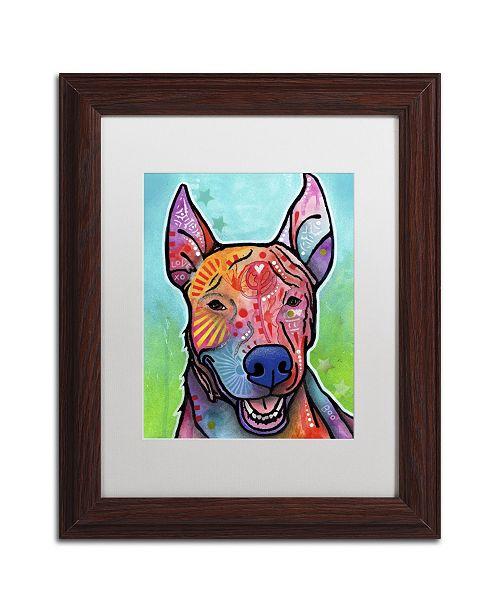 """Trademark Global Dean Russo 'Boo' Matted Framed Art - 14"""" x 11"""" x 0.5"""""""