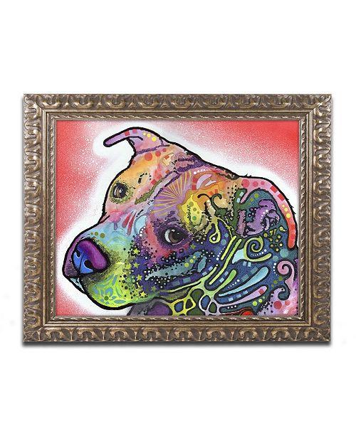 "Trademark Global Dean Russo 'Mocha' Ornate Framed Art - 14"" x 11"" x 0.5"""