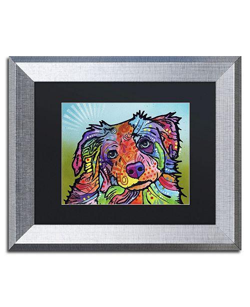 """Trademark Global Dean Russo 'Reagan' Matted Framed Art - 14"""" x 11"""" x 0.5"""""""