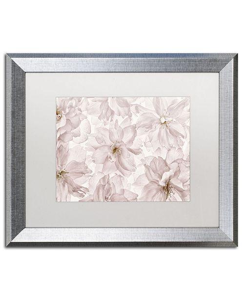 "Trademark Global Cora Niele 'Translucent Cherry Blossom' Matted Framed Art - 20"" x 16"" x 0.5"""