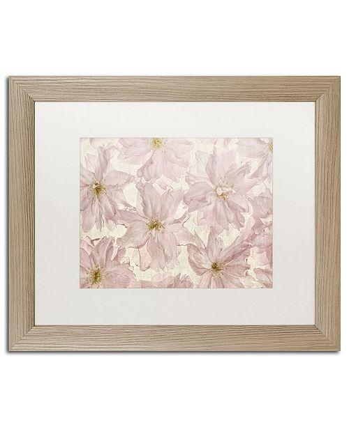 "Trademark Global Cora Niele 'Vintage Blossom' Matted Framed Art - 20"" x 16"" x 0.5"""