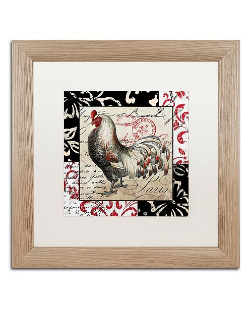 "Trademark Global Color Bakery 'Europa I' Matted Framed Art - 16"" x 0.5"" x 16"""