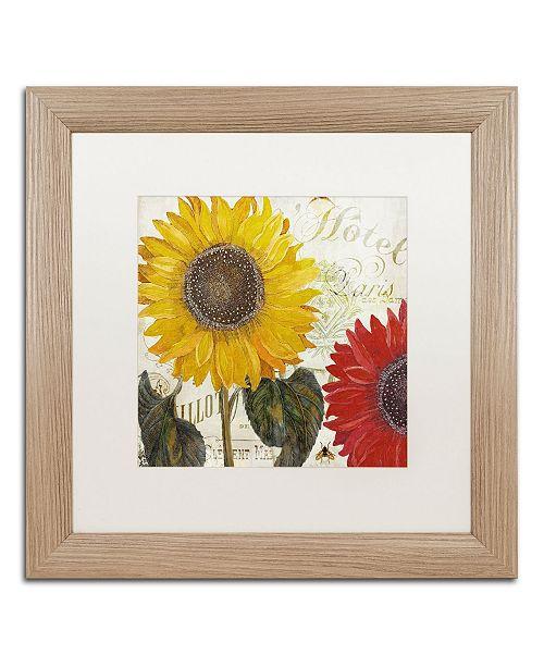 """Trademark Global Color Bakery 'Sundresses I' Matted Framed Art - 16"""" x 0.5"""" x 16"""""""