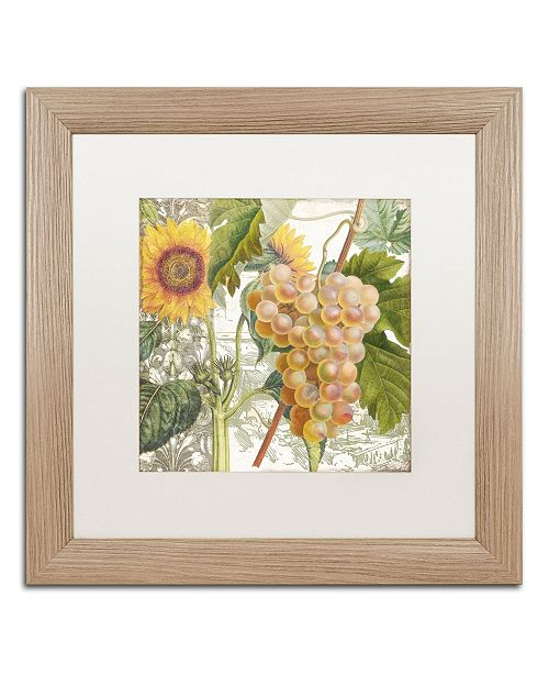 """Trademark Global Color Bakery 'Dolcetto IV' Matted Framed Art - 16"""" x 0.5"""" x 16"""""""