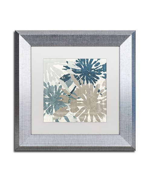 """Trademark Global Color Bakery 'Beach Curry IV' Matted Framed Art - 11"""" x 0.5"""" x 11"""""""