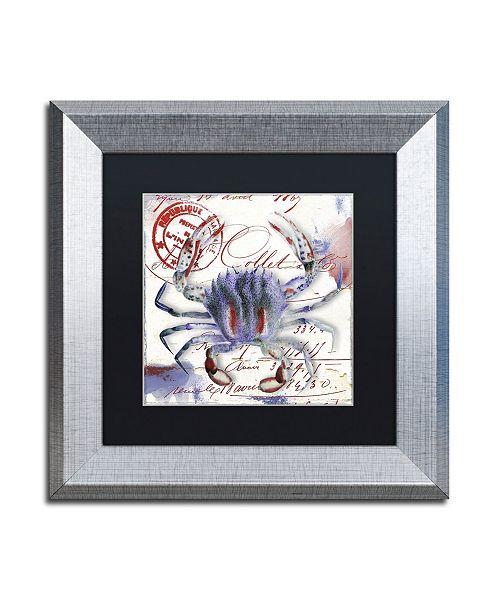 "Trademark Global Color Bakery 'Oceania II' Matted Framed Art - 11"" x 0.5"" x 11"""