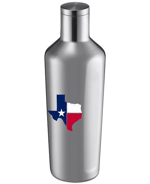 Cambridge Thirstystone Stainless Steel Copper Texas Lone Star Wine Growler
