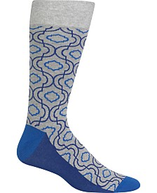 Hot Sox Men's Socks, Trellis