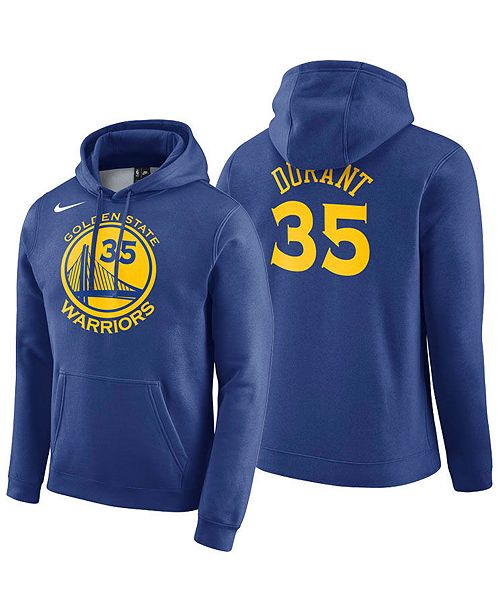 super popular 27472 3d268 Men's Kevin Durant Golden State Warriors Icon Player Name & Number  Essential Hoodie
