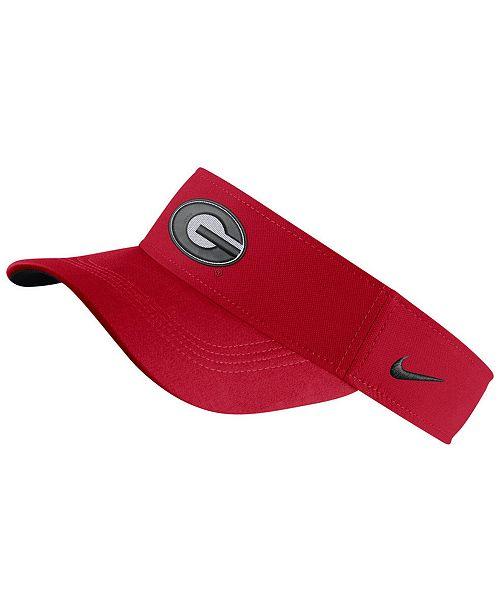 Nike Georgia Bulldogs Dri-Fit Visor