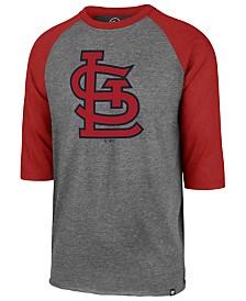 '47 Brand Men's St. Louis Cardinals Throwback Club Raglan T-Shirt