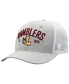 Loyola Ramblers Notch Heather Trucker Cap