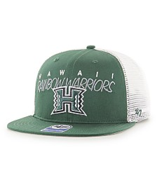 '47 Brand Big Boys Hawaii Warriors Wordmark Captain Snapback Cap