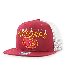 '47 Brand Big Boys Iowa State Cyclones Wordmark Captain Snapback Cap