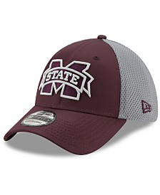 New Era Mississippi State Bulldogs TC Gray Neo 39THIRTY Cap