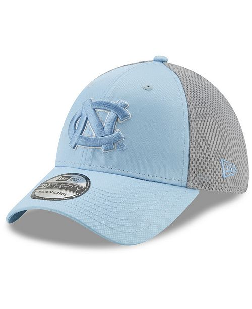 New Era North Carolina Tar Heels TC Gray Neo 39THIRTY Cap