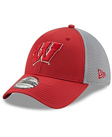 Wisconsin Badgers TC Gray Neo 39THIRTY Cap