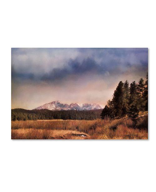 "Trademark Global Jai Johnson 'Pikes Peak' Canvas Art - 19"" x 12"" x 2"""