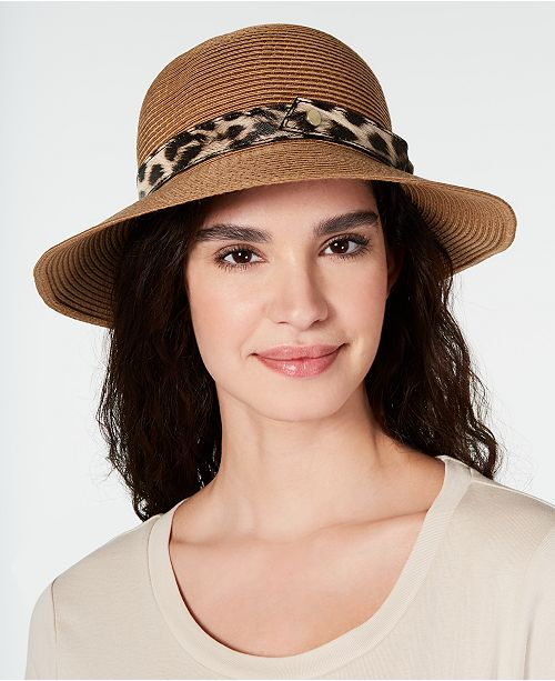 INC International Concepts I.N.C. Packable Mix-Band Bucket Hat, Created for Macy's