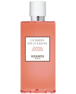 Pre-owned Hermes Un Jardin Sur La Lagune Body Shower Gel, 6.7-oz.