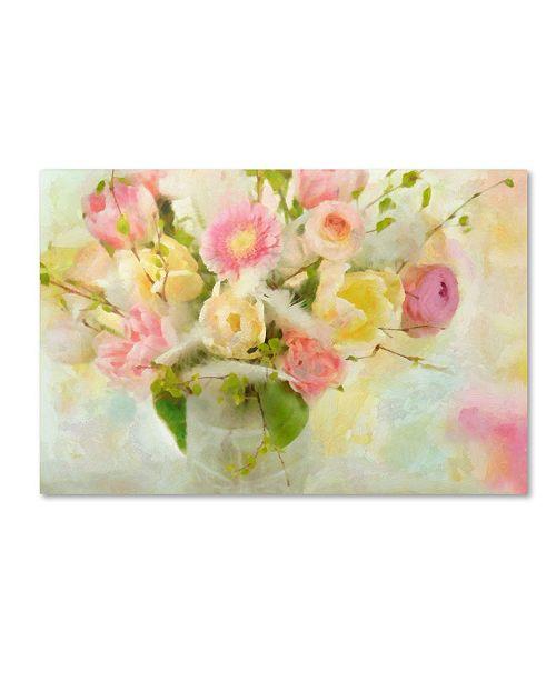 "Trademark Global Cora Niele 'Easter Bouquet' Canvas Art - 47"" x 30"" x 2"""