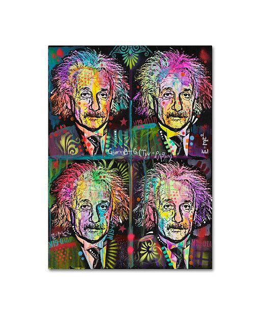 """Trademark Global Dean Russo 'Einstein 4 Up' Canvas Art - 32"""" x 24"""" x 2"""""""
