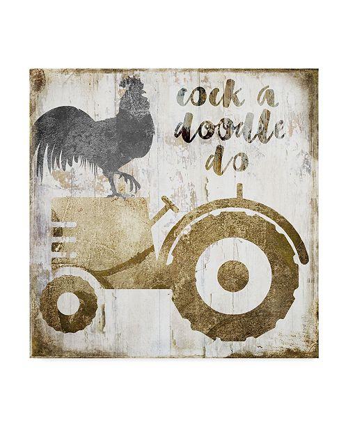 "Trademark Global Color Bakery 'Fresh Dairy II' Canvas Art - 24"" x 24"" x 2"""