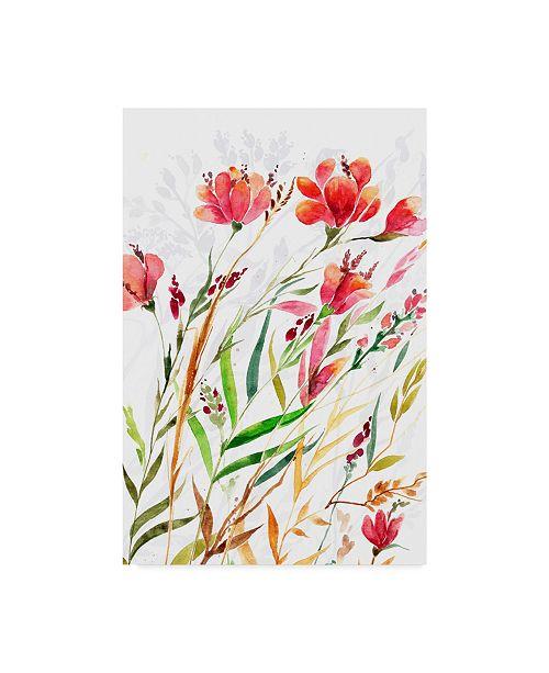 """Trademark Global Irina Trzaskos Studio 'Meadow III' Canvas Art - 47"""" x 30"""" x 2"""""""
