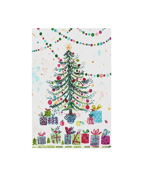 "Trademark Global Irina Trzaskos Studio 'Christmas Joy 4' Canvas Art - 47"" x 30"" x 2"""