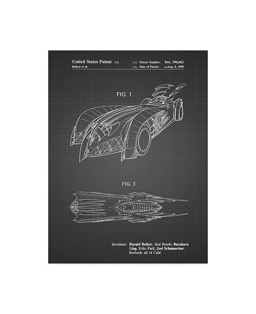 "Trademark Innovations Cole Borders 'Fantasy Car' Canvas Art - 47"" x 35"" x 2"""
